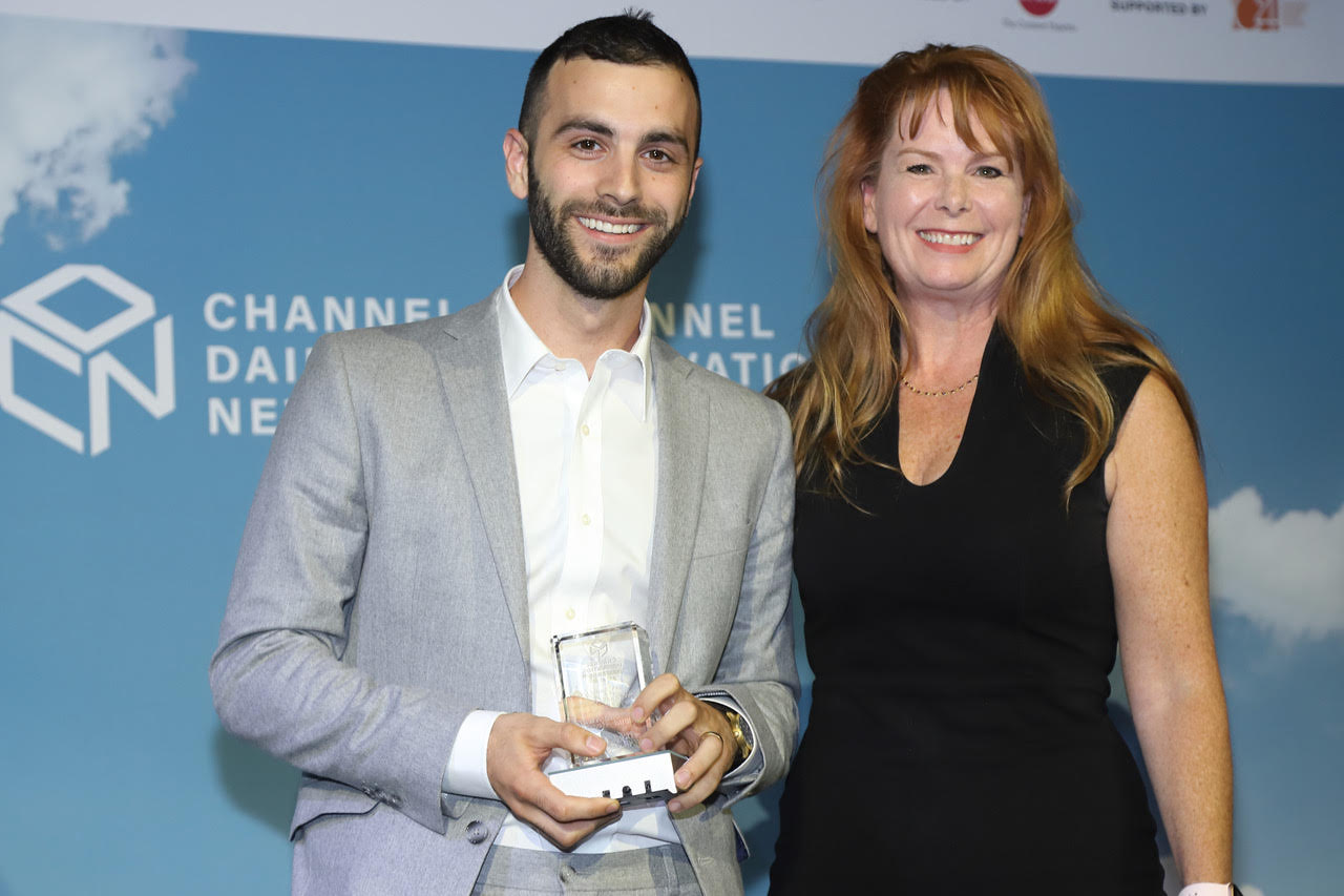 Daniel Penn, Co-founder and Board Member of Tickit Health, received the Channel Innovation Award (Diamond) for Tickit Health's commitment to solving Diversity and Inclusion challenges in healthcare and education.